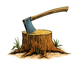 Lumber Jack's Ax