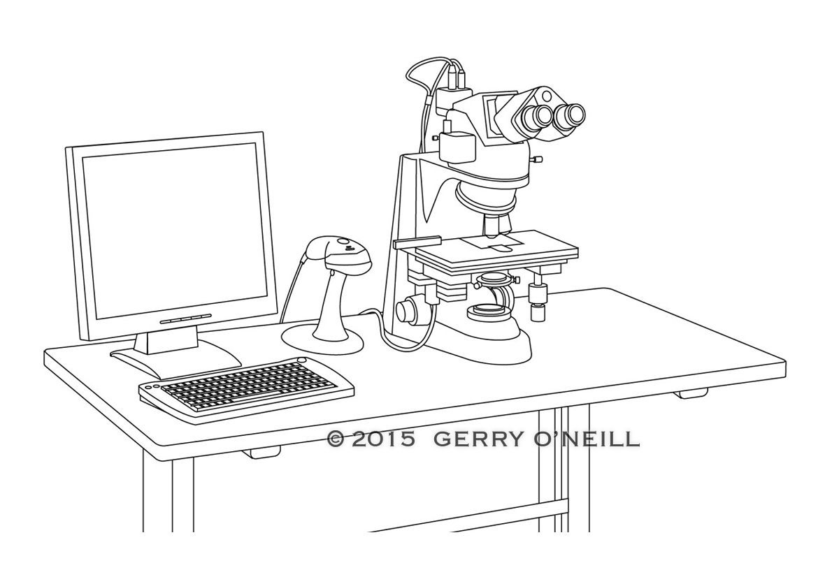 Line Art Render : Technical rendering gerry o neill illustration
